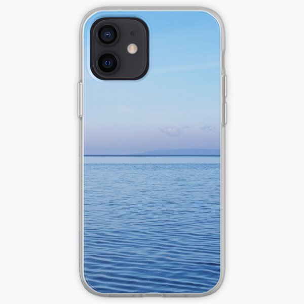 Georgian Bay Blues Abstract iPhone Soft Case
