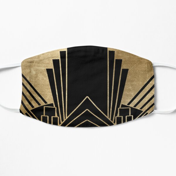 Art deco design Flat Mask