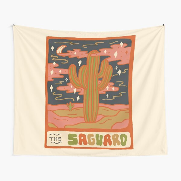 Cactus Tarot Cards- Saguaro Tapestry