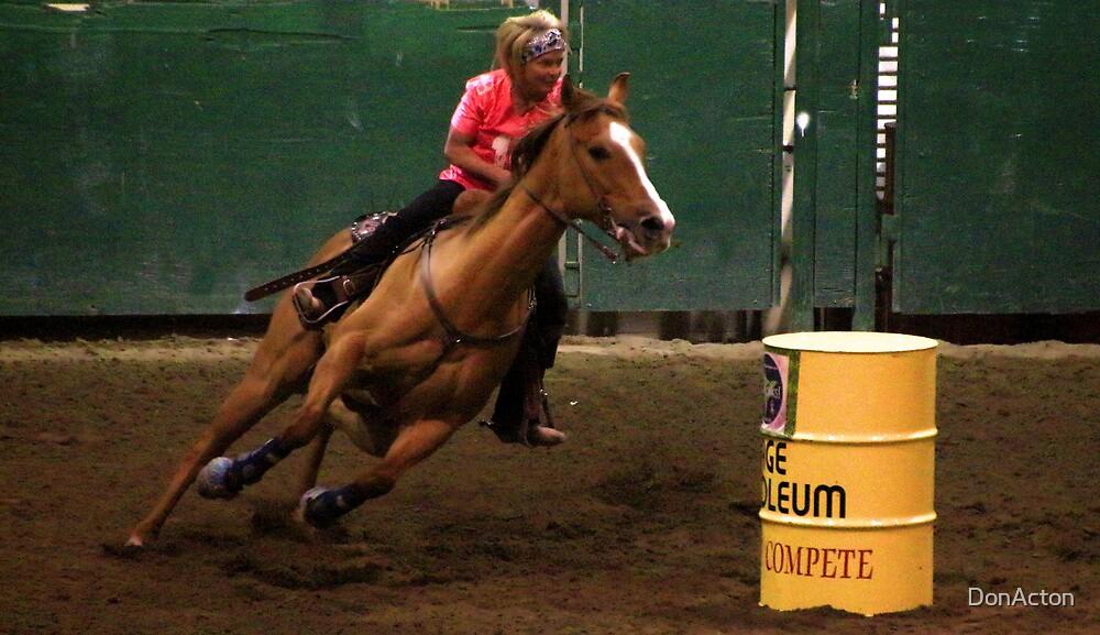 Barrel racer 5/11/13 Winnemucca by DonActon