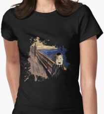 Scream Alone Women's Fitted T-Shirt