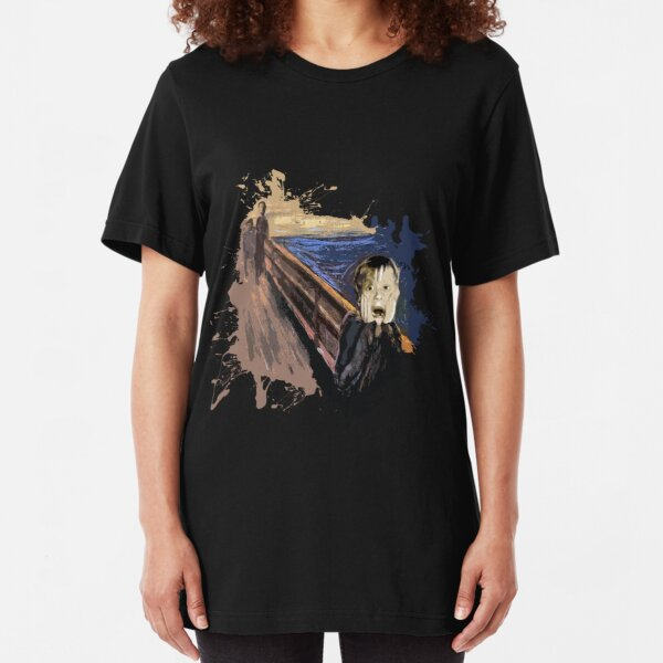 Scream Alone Slim Fit T-Shirt