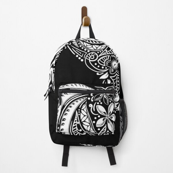 Polynesian Hand Drawn Tribal Threads Backpack