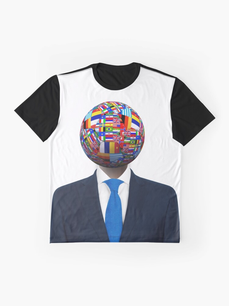 Vista alternativa de Camiseta gráfica Global Business