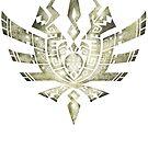 Monster Hunter 4 Logo BONE bright by RavishingRyan