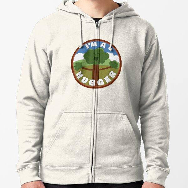 Nature Lover Merit Badge Zipped Hoodie