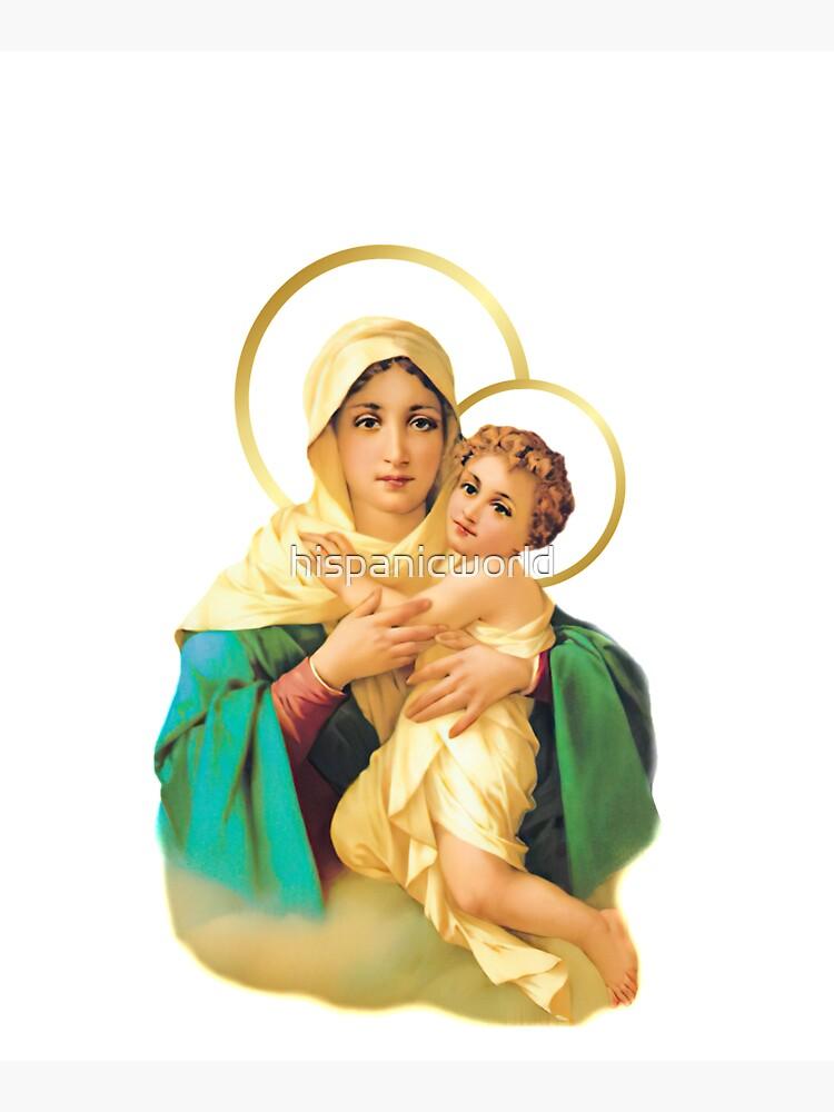 Our Lady of Schoenstatt Virgin Mary Catholic Saint 2020-020 by hispanicworld