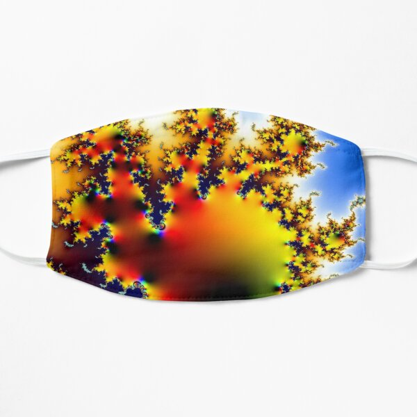 Fractal Sun Burst- Horizontal Version Mask