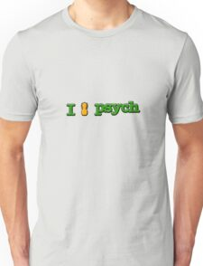 I Love Psych Design Unisex T-Shirt