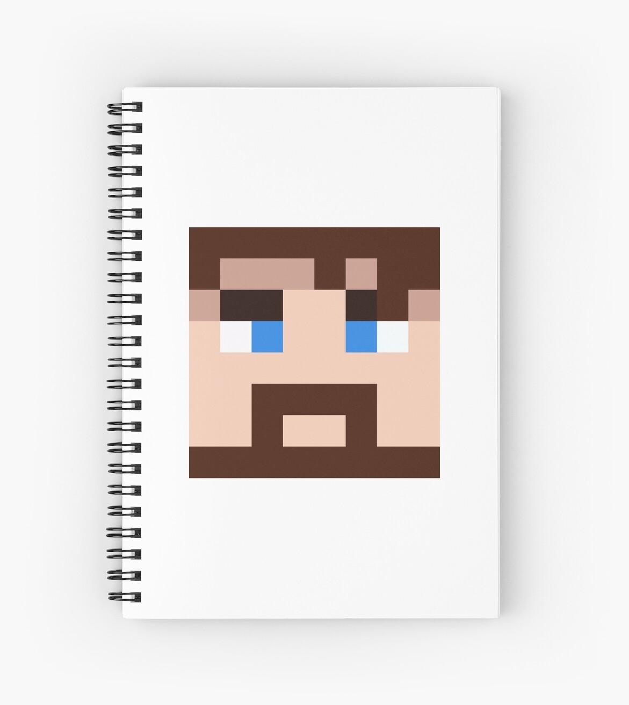 BlueXephos Minecraft skin - Yogscast Lewis face\