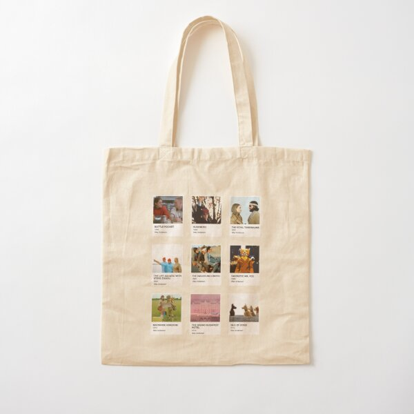 Pantone Wes Anderson Cotton Tote Bag