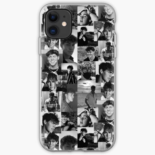 Noah Beck Collage iPhone Soft Case