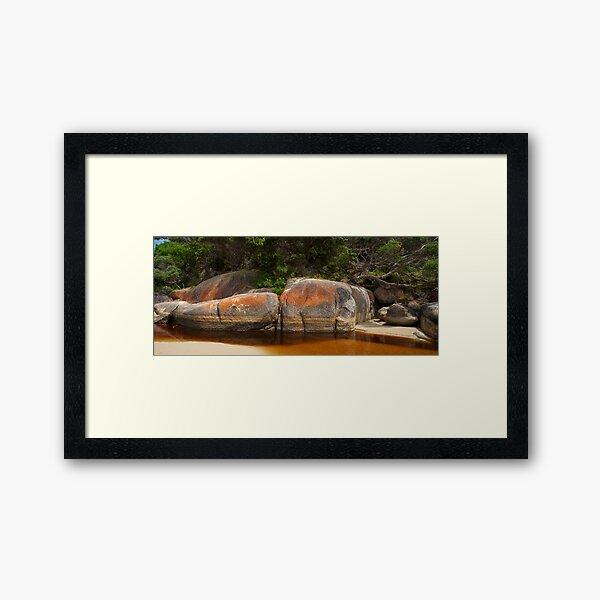 Tidal River, Wilsons Promontory National Park Framed Art Print