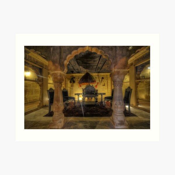 Inside Jaisalmer Fort Art Print