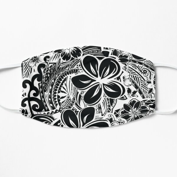 Savaii Polynesian Tribal Threads Flat Mask