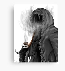 "Grim Reaper ""Still Smoking"" Canvas Print"