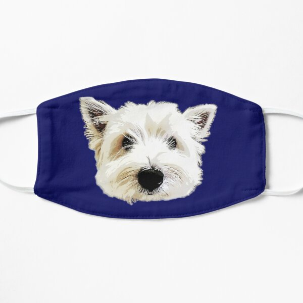 West Highland Terrier Cute Puppy Dog Mask