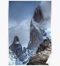 Mont Fitz Roy Peak Poster