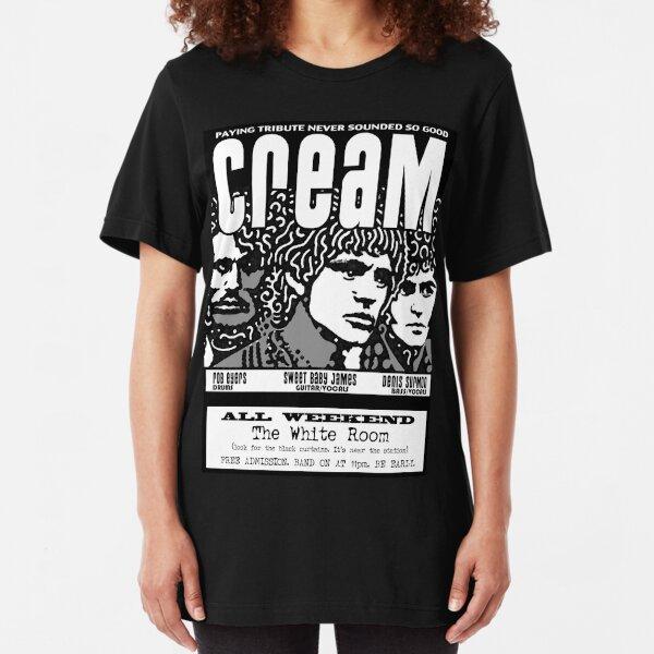 Cream Slim Fit T-Shirt