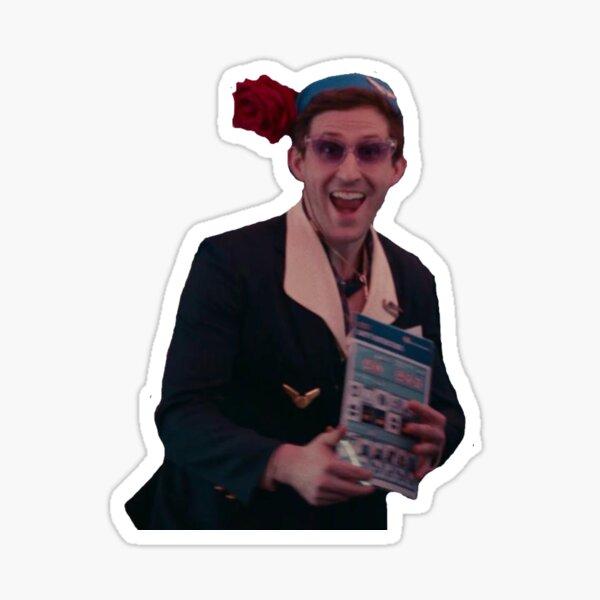 Jon Mess Happy Meme Sticker