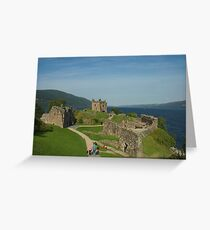 Urquhart Castle on Loch Ness, Scotland Greeting Card
