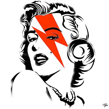 Red flash Marilyn stardust by morganPASLIER