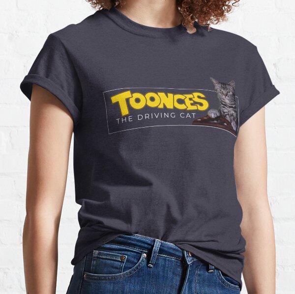 Toonces el gato conductor Camiseta clásica