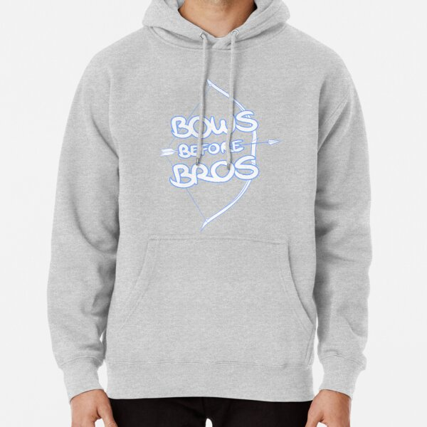 Bows Before Bros Pullover Hoodie