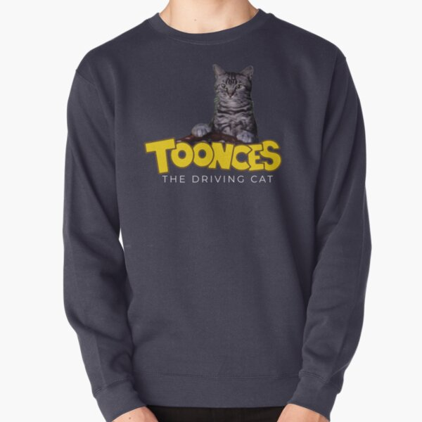 Toonces the driving cat Pullover Sweatshirt