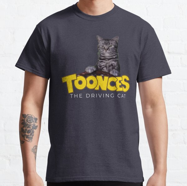 Toonces the driving cat Classic T-Shirt