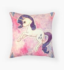 Rarity Throw Pillow