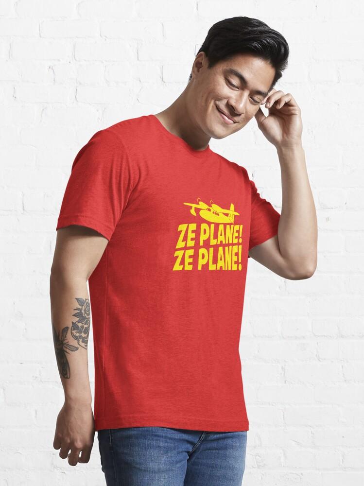 Alternate view of Ze Plane, Ze Plane Essential T-Shirt