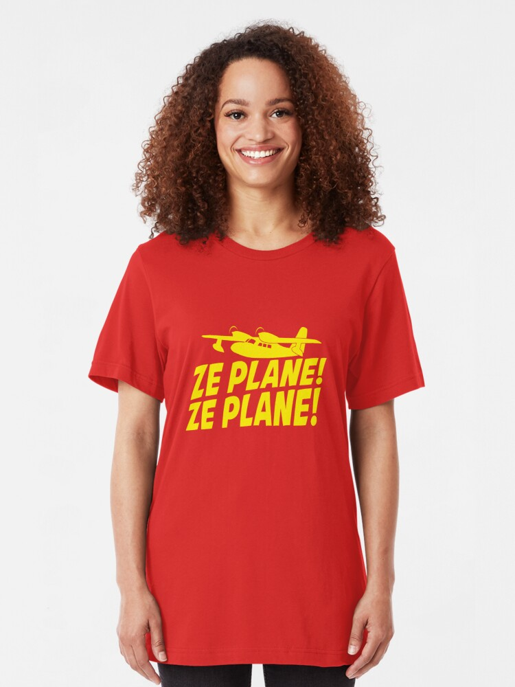Alternate view of Ze Plane, Ze Plane Slim Fit T-Shirt