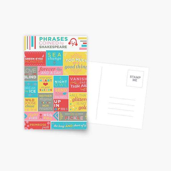 Frases acuñadas por Shakespeare Postal