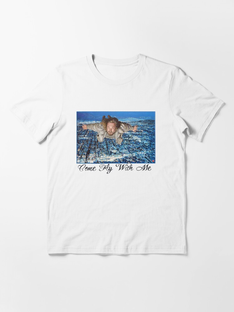 Alternate view of Come Fly With Me Essential T-Shirt