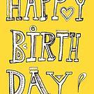 Happy Birthday card  by nefos