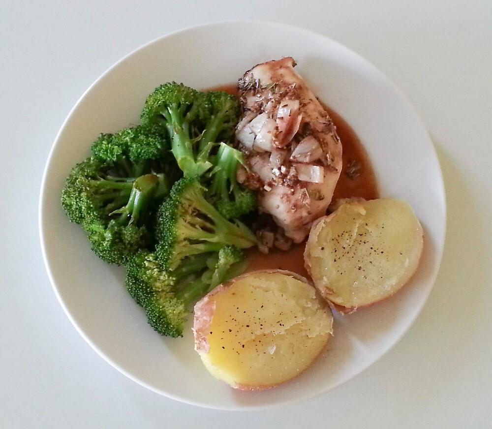Rosemary-Garlic-Balsamic Chicken Breasts by Michael Redbourn