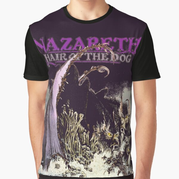 Nazareth Hair Of The Dog Classic Touch Album 1975 Graphic T-Shirt