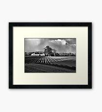 Furrowed Landscape Framed Print