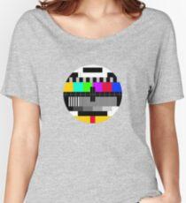 tv test Women's Relaxed Fit T-Shirt