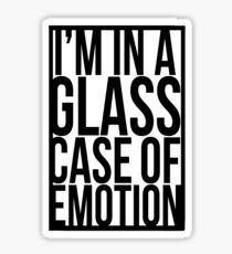 Glass Case of Emotion Sticker