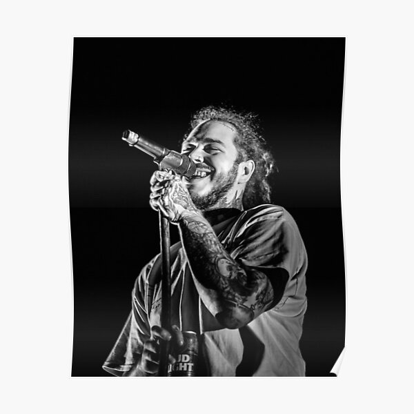 smile black malone Poster