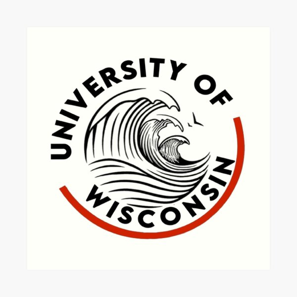 University of Wisconsin Art Print