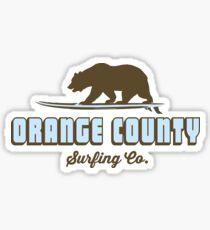 Orange County - California. Sticker