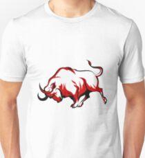 Fighting Bull Emblem  Unisex T-Shirt