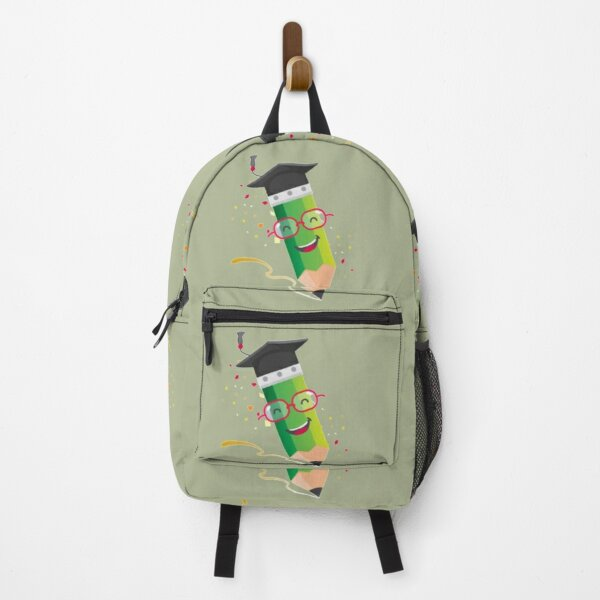 Funny Cartoon Pencil Backpack