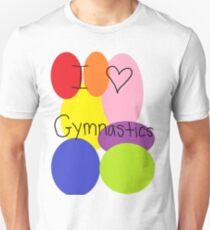 I love gymnastics Unisex T-Shirt
