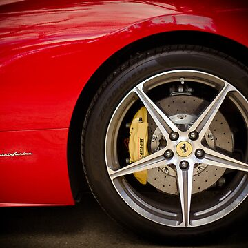 Ferrari 458 Front Wheel by marcogolfo