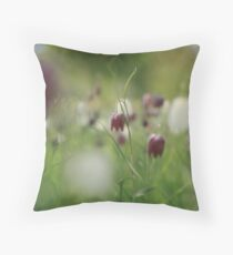 Meadow at Downton Abbey Throw Pillow