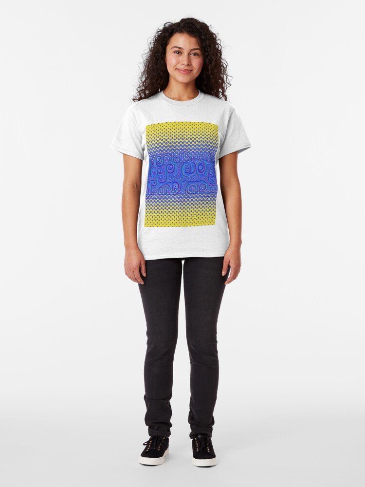 Alternate view of #DeepDream Color Circles Gradient Visual Areas 5x5K v1449227497 Classic T-Shirt